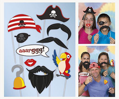 Click to view product details and reviews for Pirate Photo Props 30cm Pack Of 10.