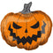 Halloween Pumpkin Foil Balloon – 29""