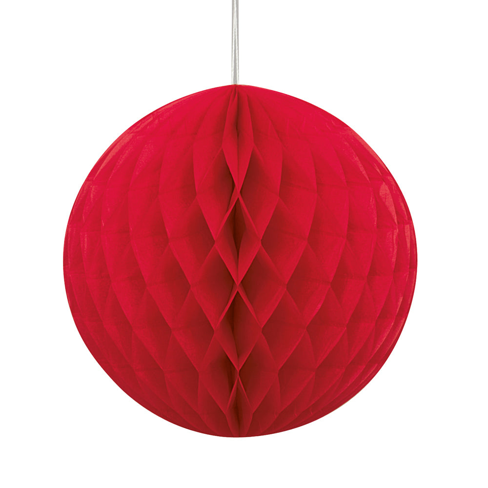 Red Tissue Ball - 20cm