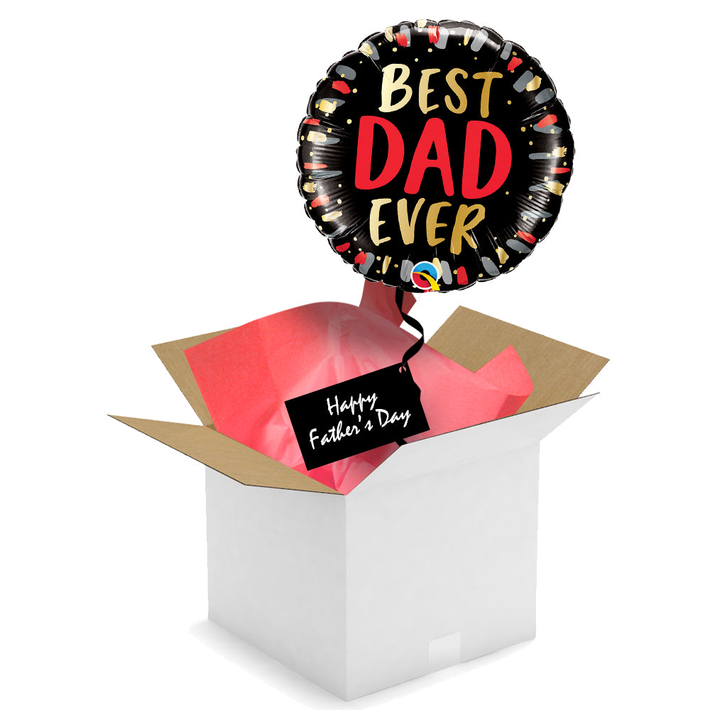 Send a Balloon - Best Dad Ever - 18""