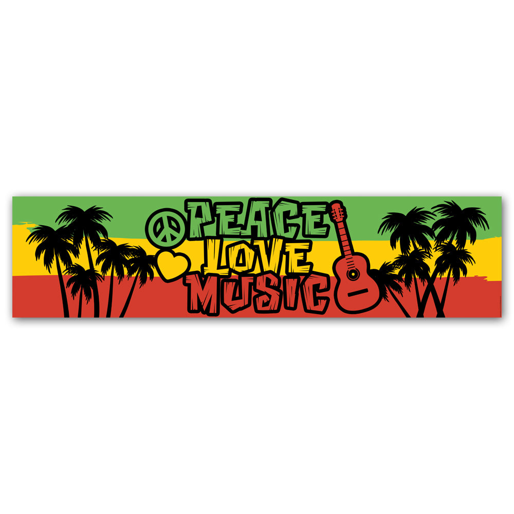 Reggae Banner Decoration - 1.2m