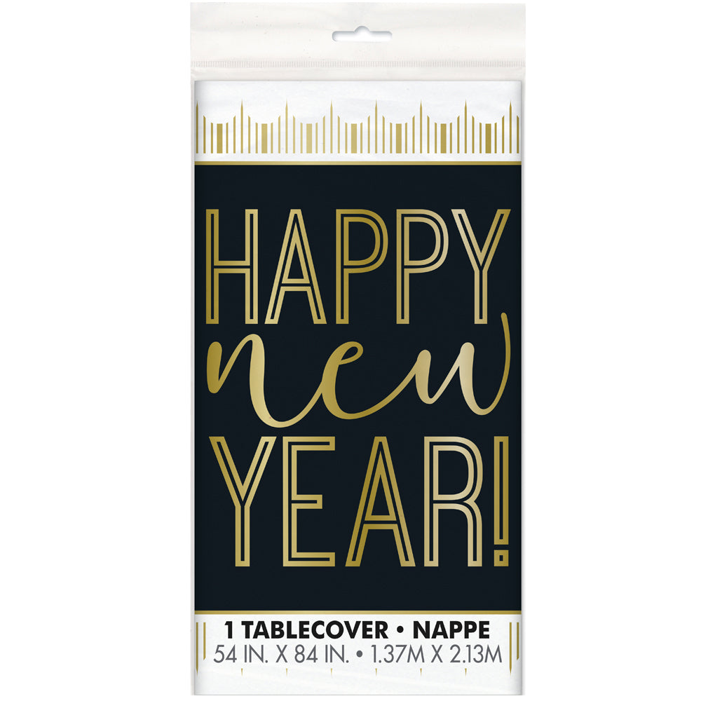 Happy New Year Tablecloth - 2.13m