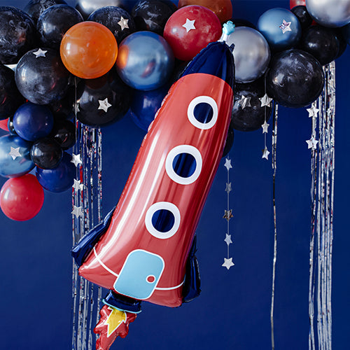 Rocket Foil Balloon - 45""