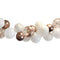 White and Rose Gold Balloon Arch DIY Kit - 2.5m