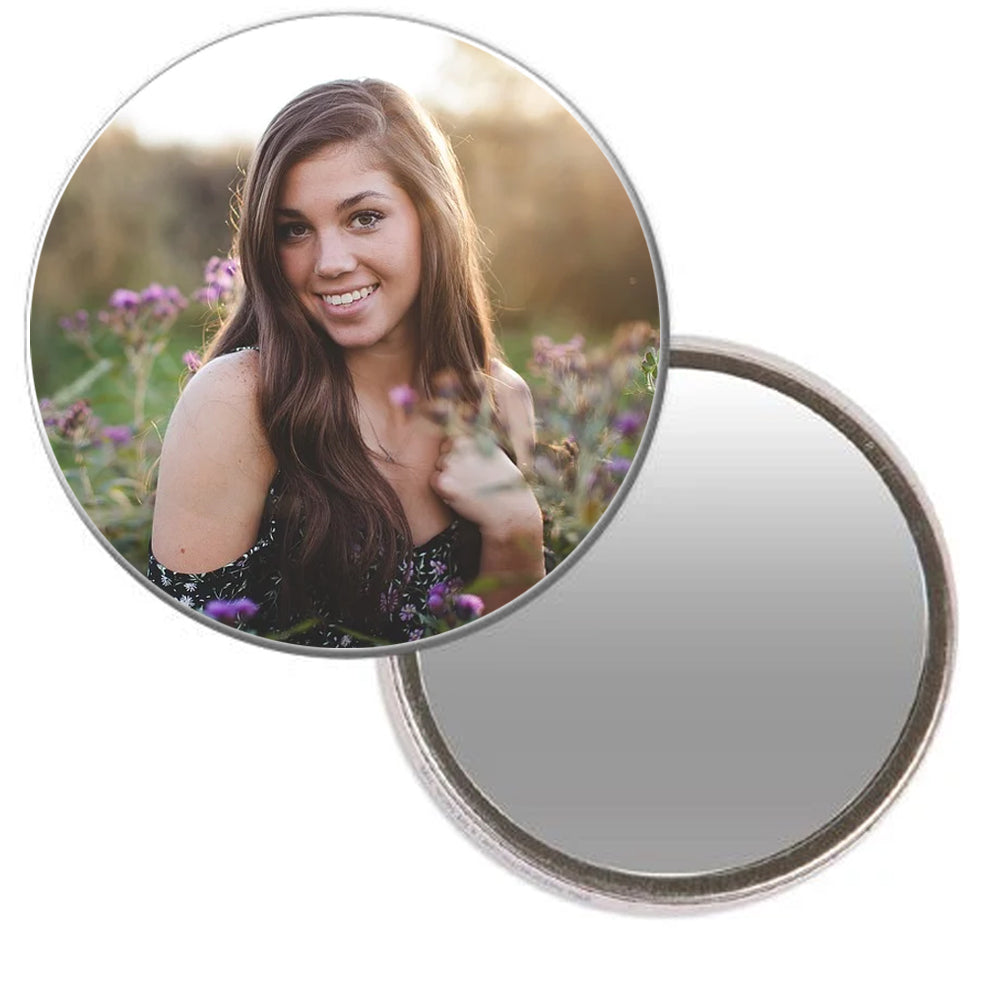 Selfie Photo Pocket Mirror - 58mm