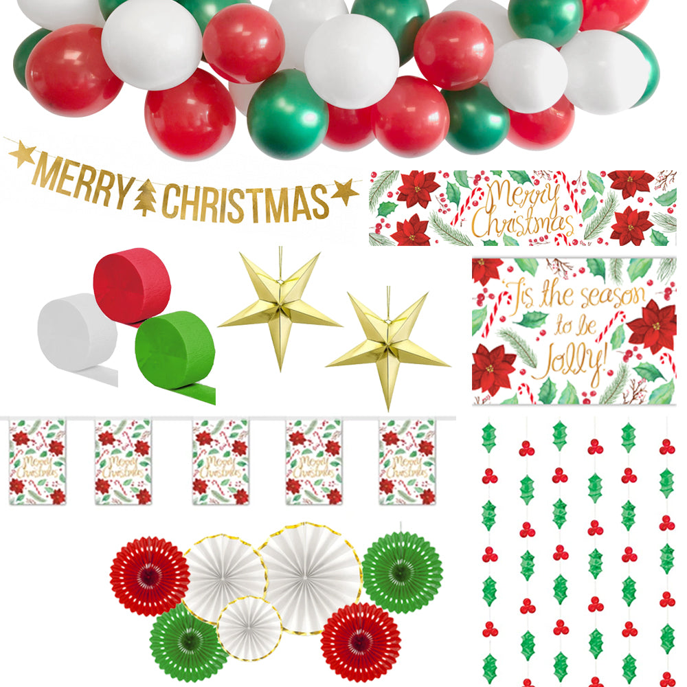 Christmas Party Decoration Pack