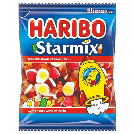 Haribo Starmix Sweets - 160g Bag