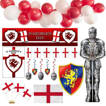 St. George's Day Decoration Party Pack