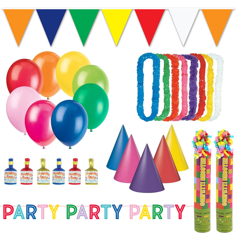 Street Party Decoration and Novelty Celebration Party Pack