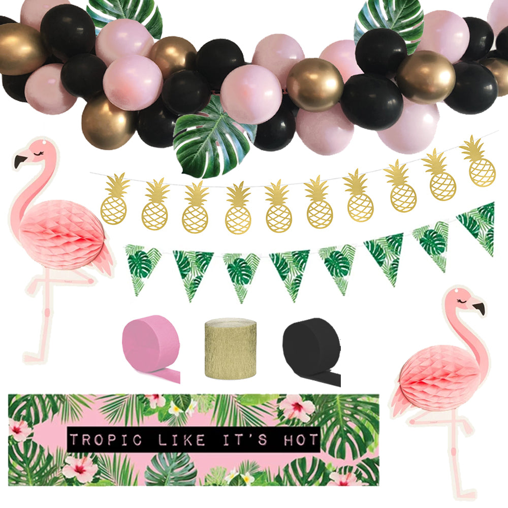 Tropic Like It's Hot Tropical Decoration Party Pack