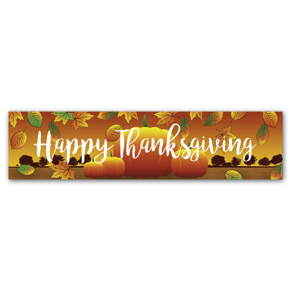 Thanksgiving Banner Decoration - 1.2m