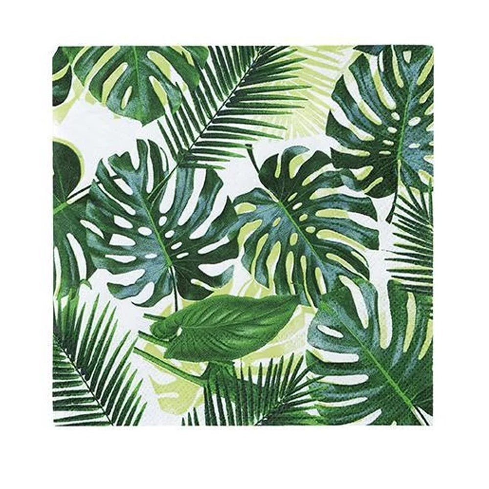 Tropical Fiesta Cocktail Napkins - Pack 20