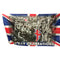 VE Day Celebrations Polyester Fabric Flag - 5ft x 3ft