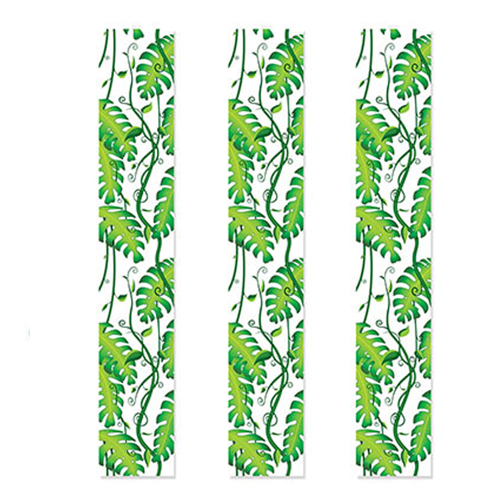 Jungle Vine Party Panels - 1.83m - Pack of 3
