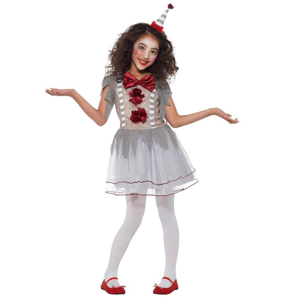 Vintage Clown Girl Costume