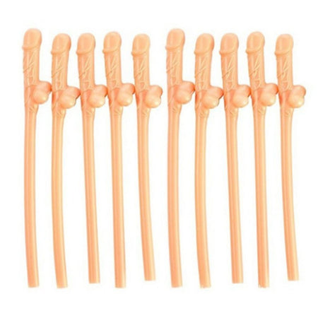 Willy Straws - Pack of 10