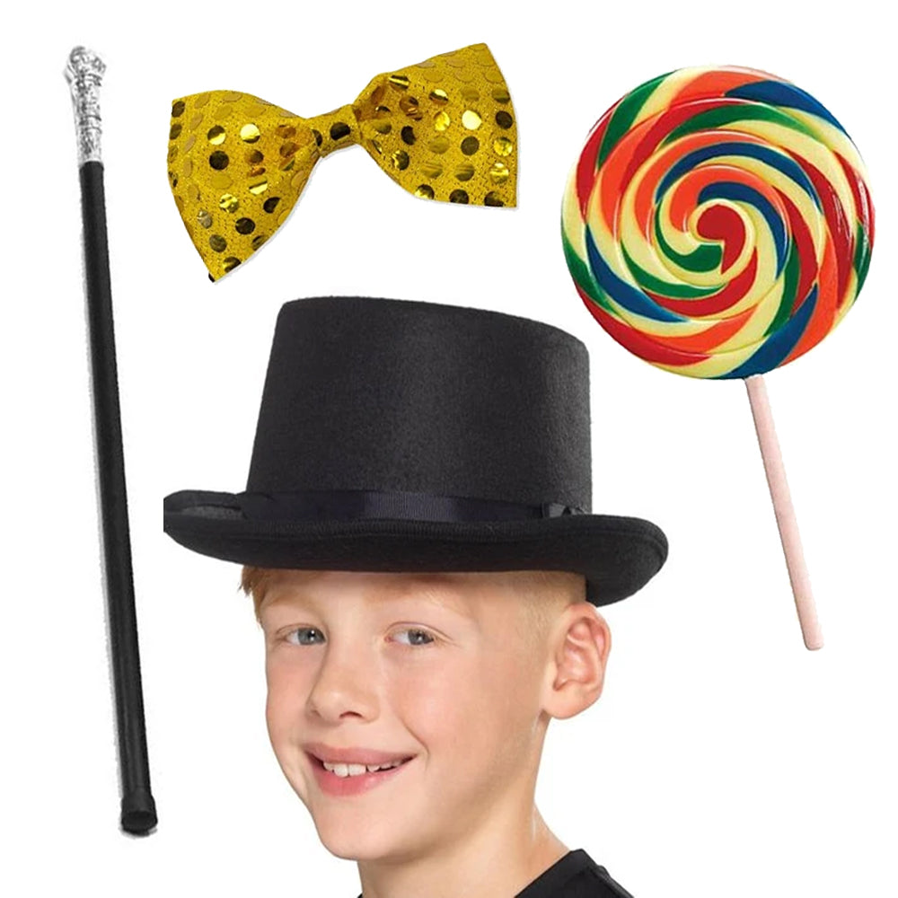Children's Willy Wonka Fancy Dress Kit