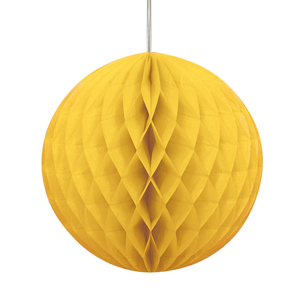 Yellow Tissue Ball - 20cm