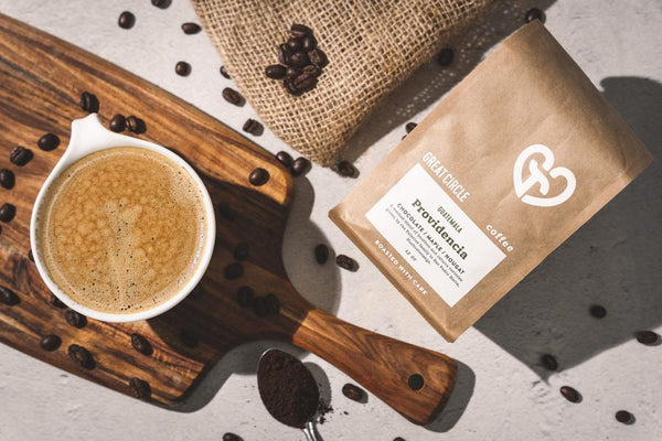 Great Circle Coffee, a story of Perseverance, Positivity and Preservation.