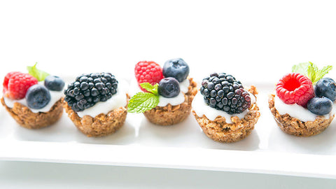 Gluten Free Fruit and Yogurt Granola Cups