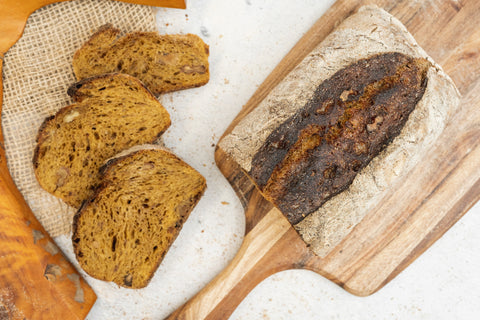 Organic Pumpkin & Walnut Bread