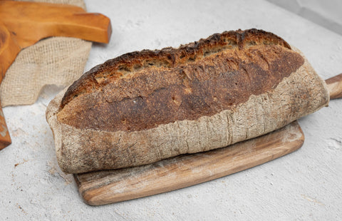 Large Organic Country Bread