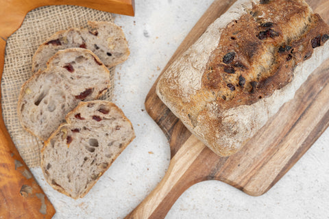 Organic Walnut & Cranberry Bread (sandwich)