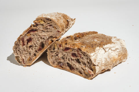 Organic Walnut & Cranberry Bread