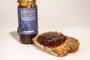 Fig Jam Infused With Pomegranate