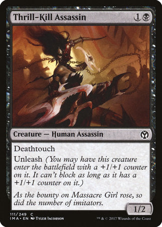 Thrill-Kill Assassin [Iconic Masters] | A&H Games - Monroe