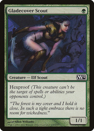 Gladecover Scout [Magic 2012] | A&H Games - Monroe