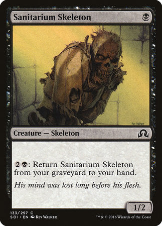 Sanitarium Skeleton [Shadows over Innistrad] | A&H Games - Monroe