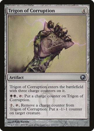 Trigon of Corruption [Scars of Mirrodin] | A&H Games - Monroe