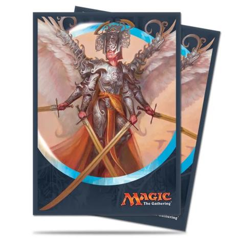 Ultra Pro: Deck Protector Sleeves - Kaladesh Angel of Invention (80ct) | A&H Games - Monroe