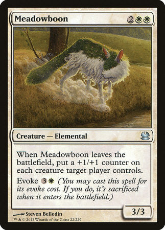 Meadowboon [Modern Masters] | A&H Games - Monroe