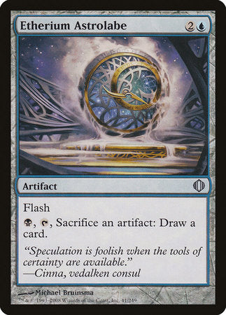 Etherium Astrolabe [Shards of Alara] | A&H Games - Monroe