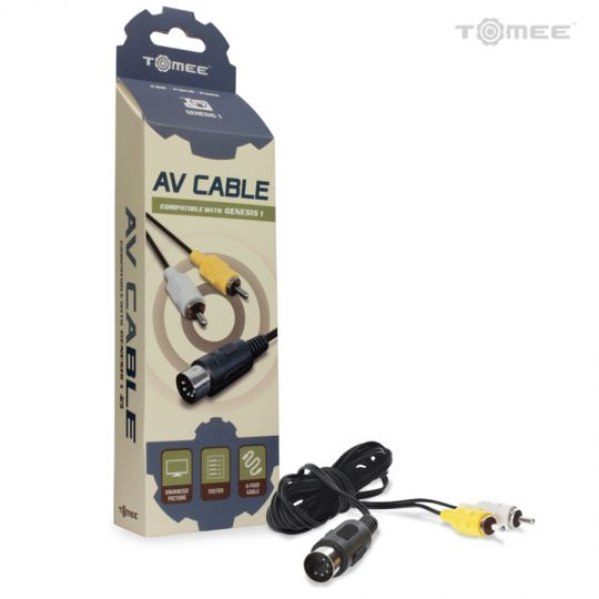 AV Cable For Genesis® 1 - Tomee | A&H Games - Monroe