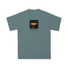 "Load image into Gallery viewer, VINTAGE WASH ""GIMME LOVE"" DRIP PLACARD T-SHIRT + DIGITAL ALBUM"