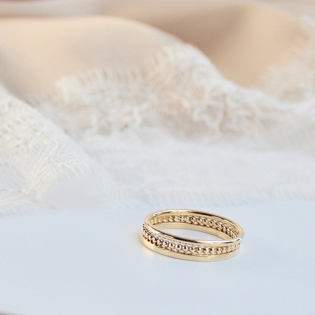The Crown Stacking Rings