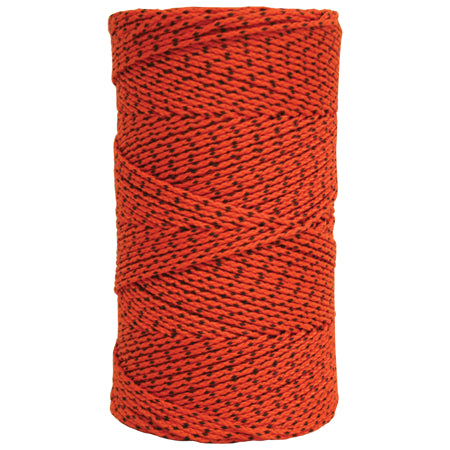W. Rose™ Super Tough Bonded Braided Nylon Line Orange & Black - 685'