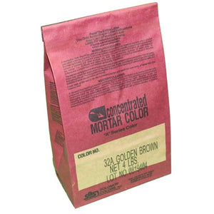 "Solomon Colors Concentrated Mortar Color ""A-SERIES"" Bags (4lb) - MasonryDirect.com"