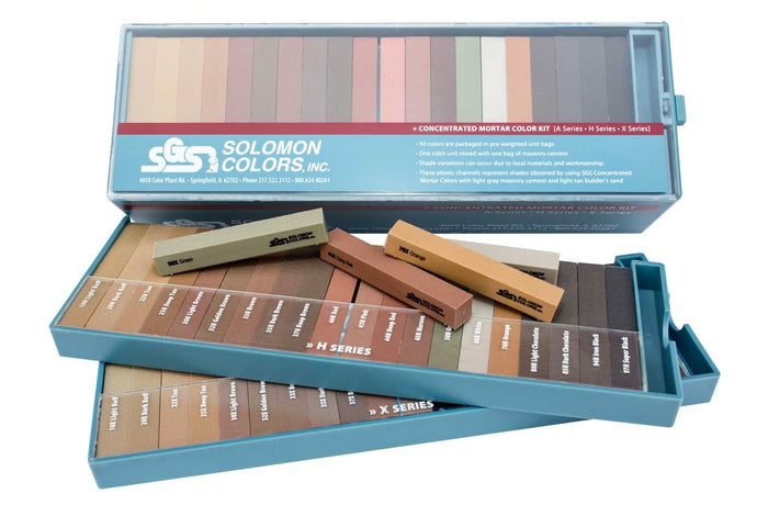 Solomon Colors Concentrated Mortar Color