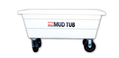 MultiQuip Mud Tub 10 CF Capacity Wheels - MasonryDirect.com