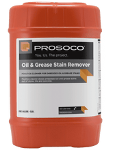 Prosoco Oil & Grease Stain Remover