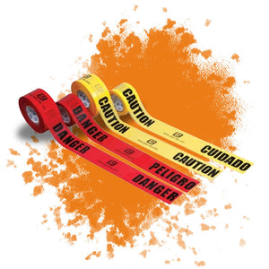 "Barrier Tape (3"" X 1000') is a construction product by Masonry Direct"