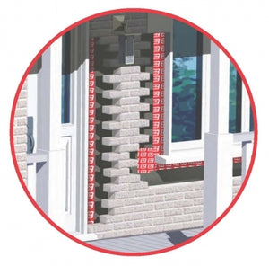 Grip Rite Window and Door Protector Self-Adhesive Membrane