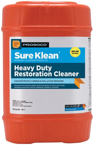 Prosoco Sure Klean Heavy Duty Restoration Cleaner 5 Gallon