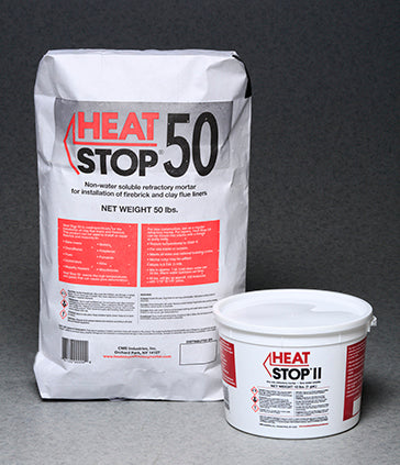 Heat Stop Refractory Mortar Dry Mix