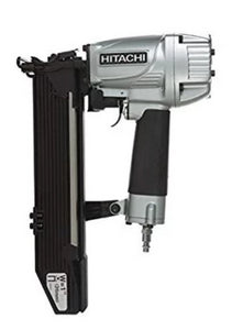 "HITACHI N5024A2 16  1"" Crown 2"" Leg 16 Gauge Stapler - MasonryDirect.com"