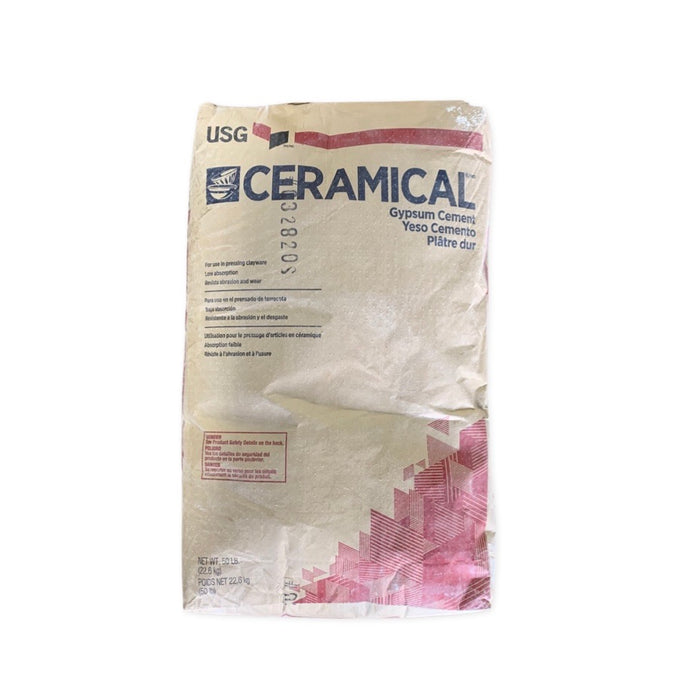 USG Cerami-Cal Gypsum Cement 50 LB Bag